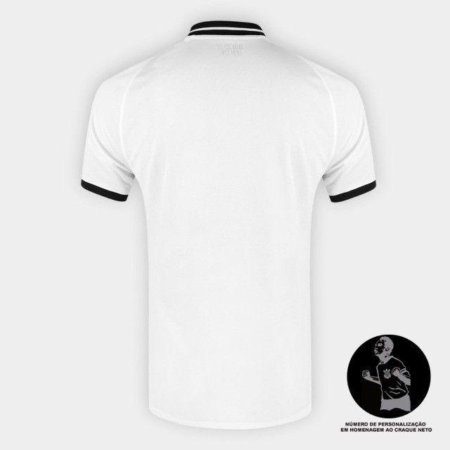Camisa Corinthians I 20/21 s/n° Torcedor Nike Masculina - Foto 3
