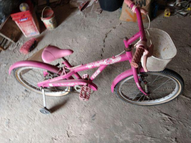 Bicicleta rosa  - Foto 3