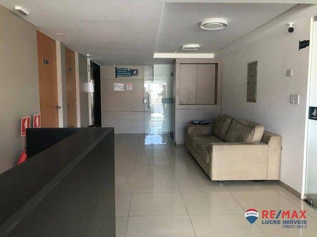 Apartamento com 1 dormitório para alugar, 39 m² por R$ 1.900,00/mês - Cabo Branco - João P - Foto 3