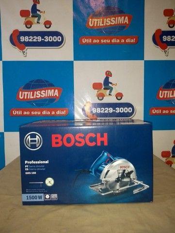 Serra Circular Bosch GKS150 1500W ? Entrega grátis  - Foto 2
