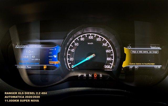 Ford Ranger 2.2 XLS 4x4 Diesel Auto 2020/2020 - Foto 20
