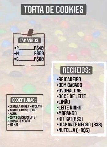 TORTA DE COOKIES RECHEADA - Foto 2