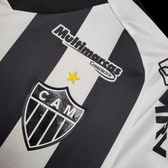 Camisa de time Atlético Mineiro, São Paulo, etc  - Foto 2