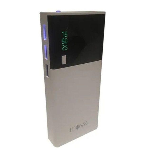 Carregador portátil inova 10.000mah 3 USB - Foto 3