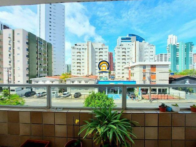 Excelente Apartamento 3 quartos em Boa Viagem, 138m², proximo a praia - Foto 13