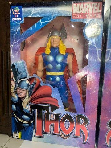 Boneco Thor Premium  Gigante vingadores 55 cm Colecionador  NOVO - Foto 6