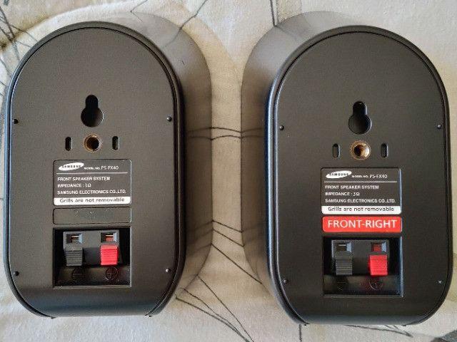 Caixas Acústicas Frontais Para Home Theather Samsung Ps-fx40 - Foto 2