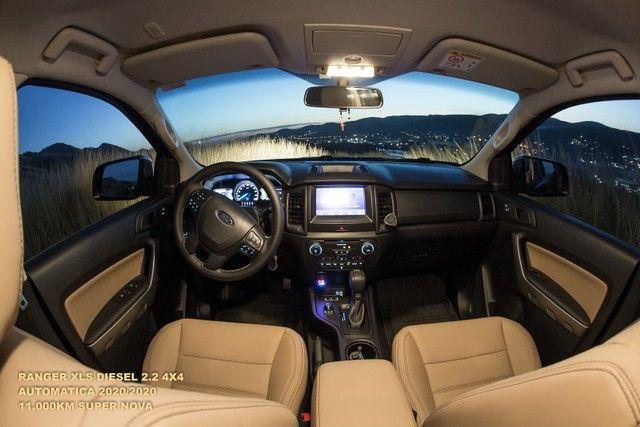 Ford Ranger 2.2 XLS 4x4 Diesel Auto 2020/2020 - Foto 19