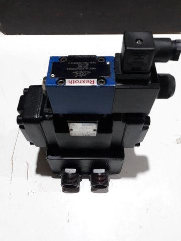 Válvula Direcional Rexroth +Bloco monofodio para Máquinas e Equipamentos hidráulicos  - Foto 3