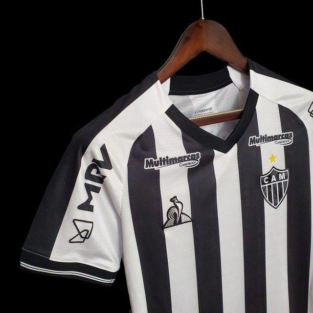 Camisa de time Atlético Mineiro, São Paulo, etc