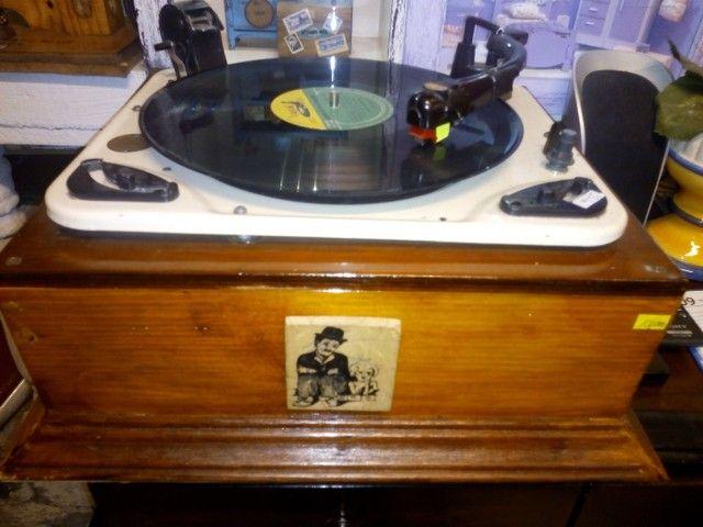 Vitrola antiga para colecionadores , funcionando perfeitamente, - Foto 2