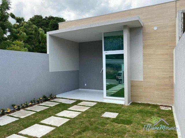 Casa à venda, 103 m² por R$ 330.000,00 - Graribas - Eusébio/CE - Foto 2