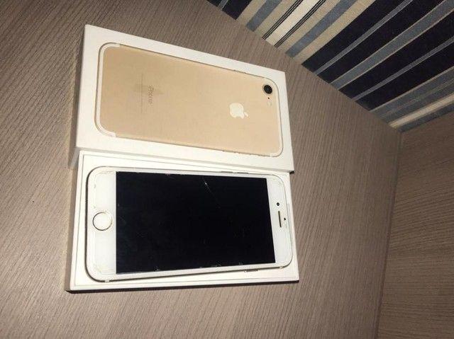 iPhone 7 128gb Ouro  - Foto 2