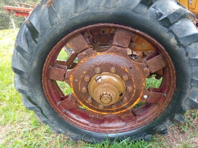 Valmet 85 id pneus estreito - Foto 4