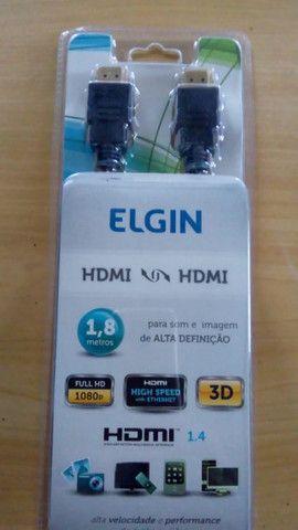 Cabo Hdmi Elgin 1,8m na embalagem - Foto 2