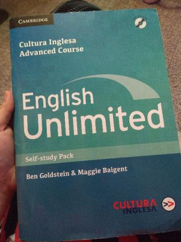 Livro English Unlimited Advanced Course Self-Study Pack Usado