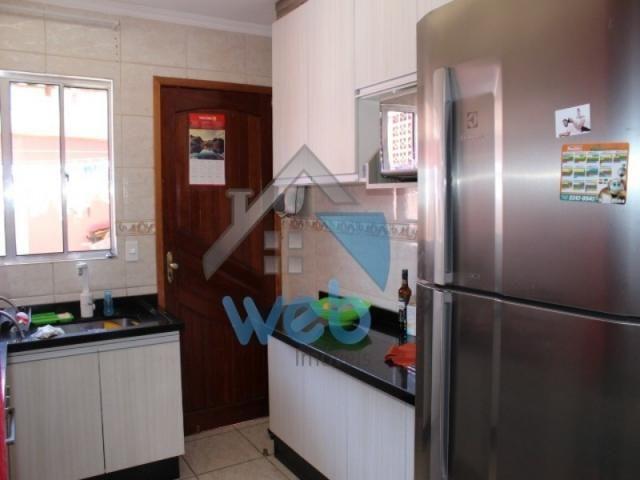 Excelente sobrado, dois quartos e cozinha planejada! - Foto 9