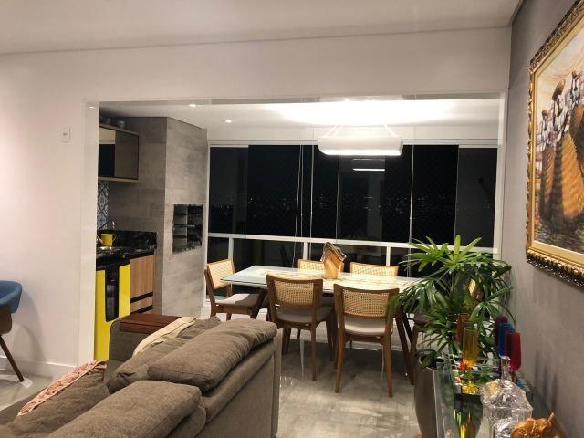 Apartamento 3/4 + Home Office Platno GreenVille Andar Alto Vista Bosque - Foto 11