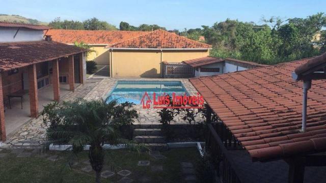 Sítio com 3 dormitórios para venda e locação, 3000m² - Inoã - Maricá/RJ - SI0009 - Foto 7