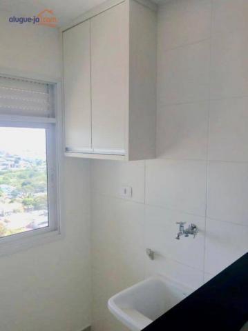 Apartamento com 2 dormitórios à venda, 65 m² por r$ 330.000 - parque industrial - são josé - Foto 7