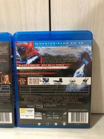 Coleção Blu Ray Homem Aranha 05 Filmes - Foto 2