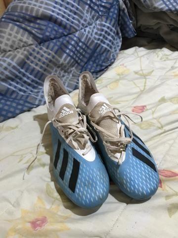 Chuteira Adidas 1 linha - Foto 2