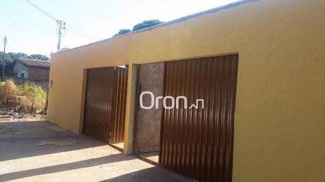 Casa com 2 dormitórios à venda, 70 m² por r$ 135.000,00 - setor cora coralina - goianira/g