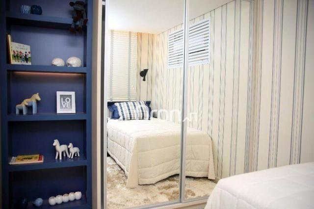 Apartamento com 2 dormitórios à venda, 73 m² por R$ 293.000,00 - Jardim Atlântico - Goiâni - Foto 9