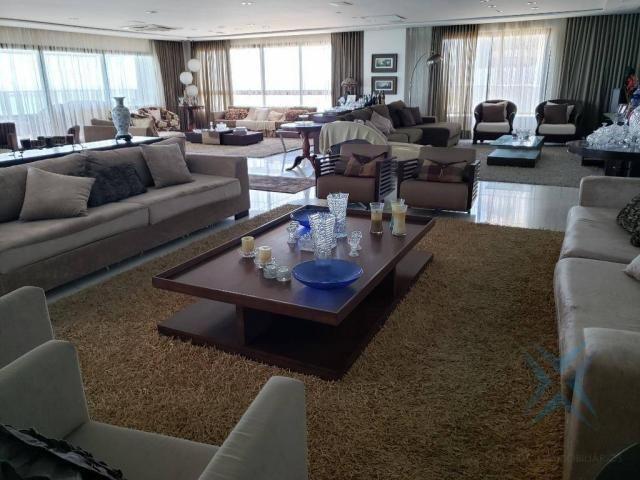 Apartamento alto padrão para alugar, 550 m² por r$ 20.000/mês - meireles - fortaleza/ce - Foto 15