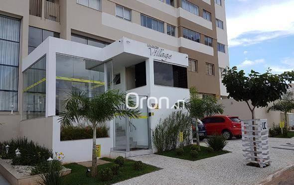 Apartamento com 2 dormitórios à venda, 55 m² por R$ 243.000,00 - Vila Rosa - Goiânia/GO - Foto 2