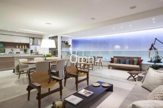 Apartamento com 3 dormitórios à venda, 154 m² por R$ 981.000,00 - Alto da Glória - Goiânia - Foto 2