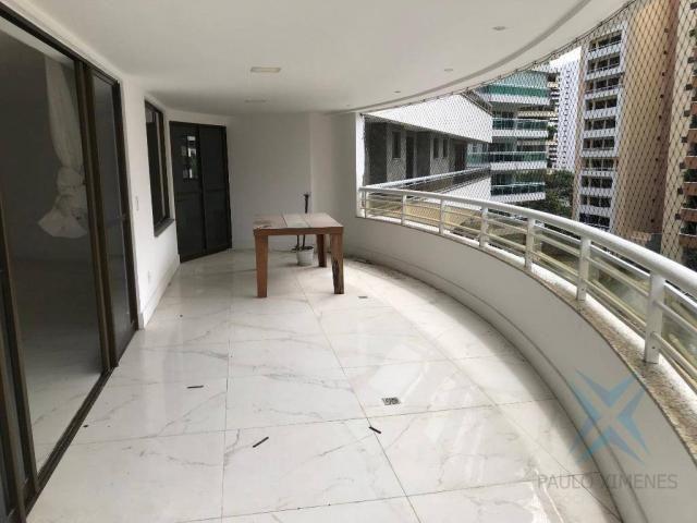 Apartamento com 4 dormitórios à venda, 357 m² por r$ 2.680.000,00 - meireles - fortaleza/c - Foto 12