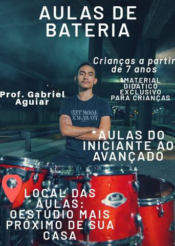 AULAS DE BATERIA em Fortaleza-Ce(Leia o anúncio)