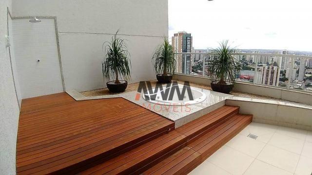 Apartamento com 1 dormitório para alugar, 42 m² por R$ 2.000,00/mês - Setor Oeste - Goiâni - Foto 11