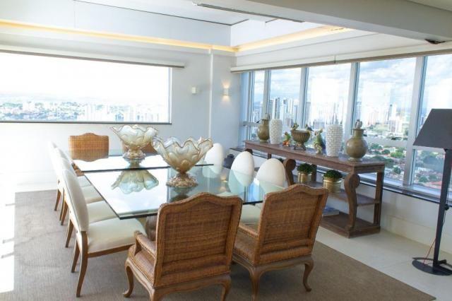 Cobertura à venda, 503 m² por r$ 3.800.000,00 - setor marista - goiânia/go - Foto 12