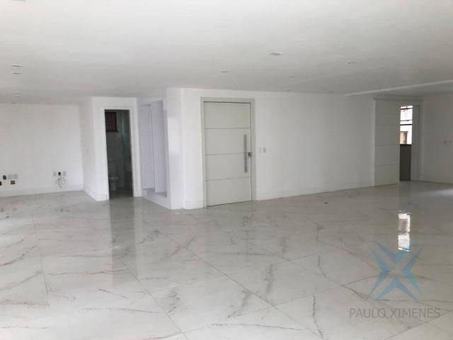 Apartamento com 4 dormitórios à venda, 357 m² por r$ 2.680.000,00 - meireles - fortaleza/c - Foto 17