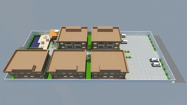 Apartamentos no Alto Xurupita, Porto Seguro - BA, com 02 quartos
