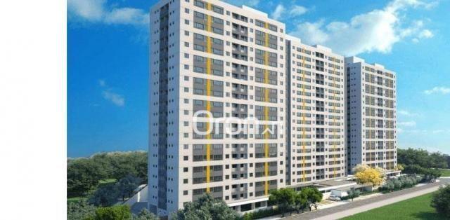 Apartamento com 2 dormitórios à venda, 56 m² por R$ 198.000,00 - Condomínio Santa Rita - G - Foto 2