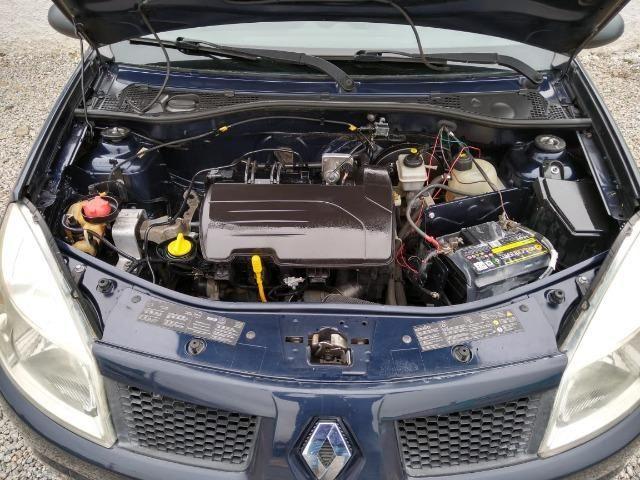 Renault sandero 2009 com parcelas de 599 mensais financio e aceito trocas - Foto 3
