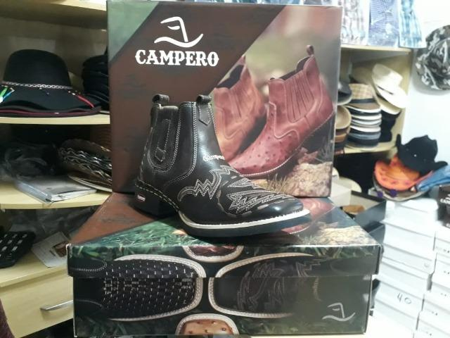 Bota Campero® de Couro NOVA - Foto 4
