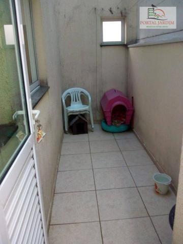 Apartamento com 2 dormitórios para alugar, 50 m² por r$ 1.300/mês - vila alto de santo and - Foto 12
