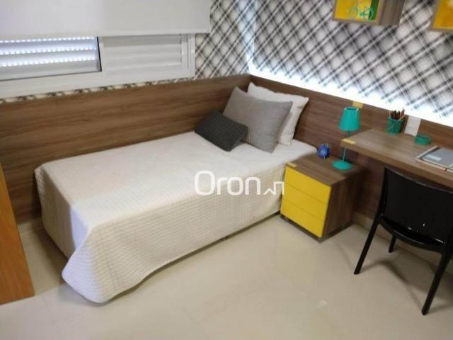 Apartamento com 3 dormitórios à venda, 94 m² por r$ 380.000,00 - parque amazônia - goiânia - Foto 17