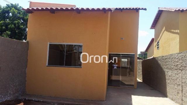 Casa com 2 dormitórios à venda, 70 m² por r$ 135.000,00 - setor cora coralina - goianira/g - Foto 2