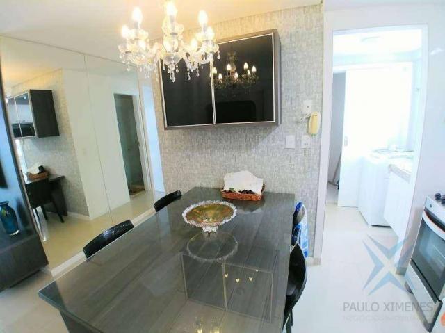 Apartamento com 2 dormitórios à venda, 70 m² por r$ 1.260.000 - meireles - fortaleza/ce - Foto 4