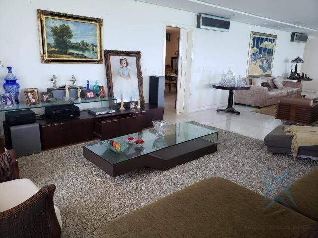 Apartamento alto padrão para alugar, 550 m² por r$ 20.000/mês - meireles - fortaleza/ce - Foto 11