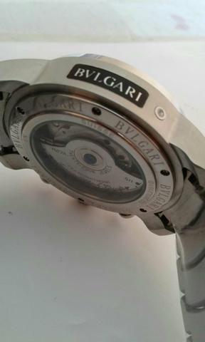 dc0e0a642fb Relógio Bvlgari automático - Bijouterias