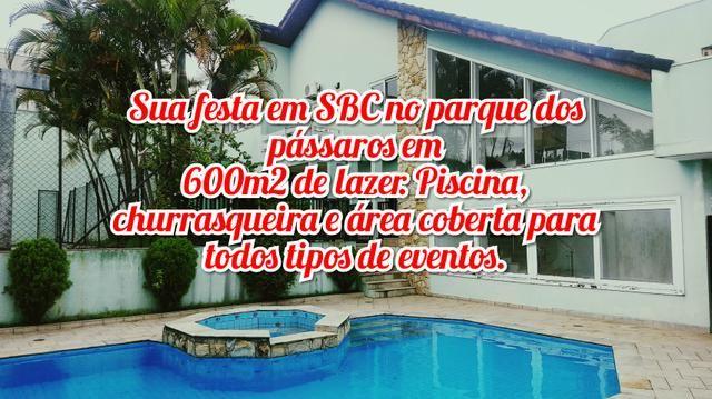 Espaço eventos salão de festas chácara com piscina Sao Bernardo do campo, casamentos