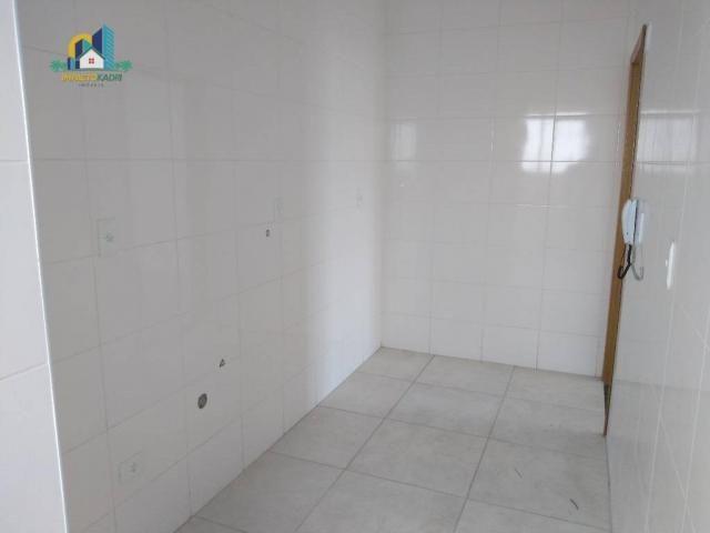 Apartamento residencial para locação, Vila Guilhermina, Praia Grande. - Foto 6