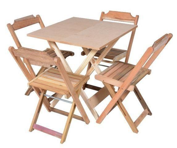 Mesas e Cadeiras Dobráveis - Paifes - Foto 5