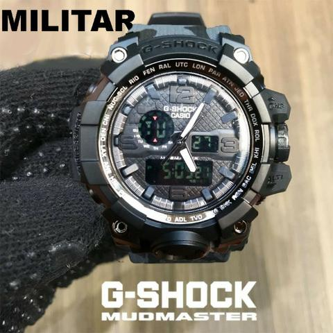 lo último ofrecer descuentos colores delicados Relógio g-shock militar camuflado analógico e digital 100% funcional  (promoção)